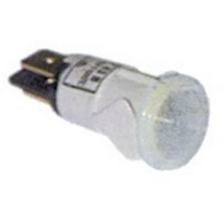 PBQ47-VOYANT BLANC 12MM D9MM + CABLE ORIGINE CONTI