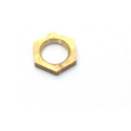 PBQ515055-ECROU LAITON 3/8 DE 12