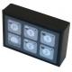 RPZQ01-CLAVIER 6 TOUCHES A LED