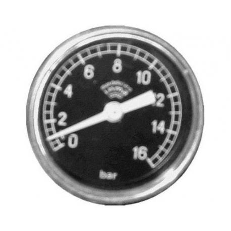 TVQ00-MANOMETRE 16 KG í51 1/8 PLAT