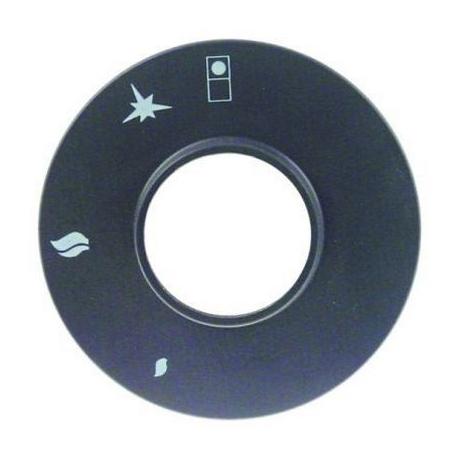 TIQ78233-FACADE POUR ROBINET GAZ AVEC