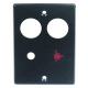TIQ78240-COUVERCLE ELETTROSIT FOUR-SAUTEUSE L:80MM L:60MM