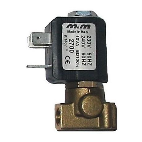 CFQ6-ELECTROVANNE 2VOIES 1/8 230V