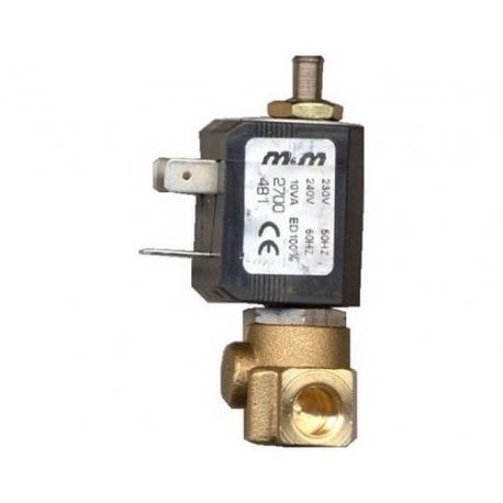 FRQ685-ELECTROVANNE M&M 3VOIES 10W 230-240V 50-60HZ ENTREE 1/8F