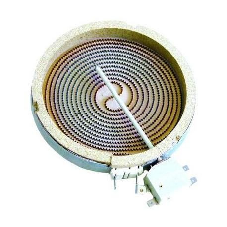 TIQ79751-PLAQUE ELECTRIQUE OCTOGONALE 1200W 230V í165MM