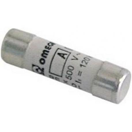 TIQ8260-FUSIBLE 10X38 6A RAPIDE 500V