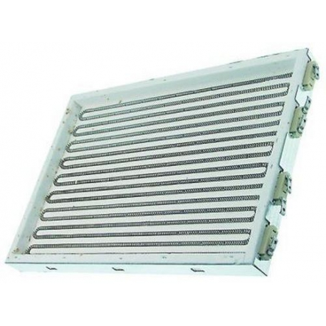 TIQ79763-PLAQUE RADIANT 5000W 230V L:410MM L:280MM ORIGINE