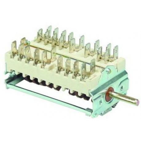 TIQ79876-COMMUTATEUR 0-8 POSITIONS 250V 16A TMAXI 150°C