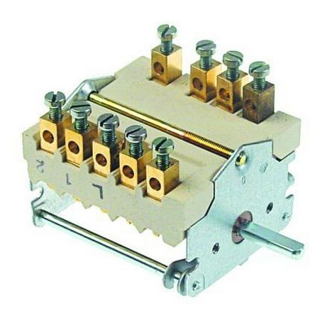 TIQ79890-COMMUTATEUR 0-3 POSITIONS 250V 32A TMAXI 150°C ORIGINE
