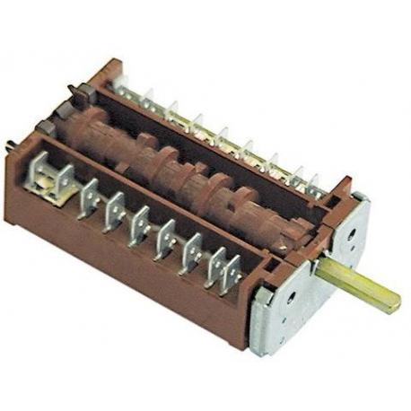 TIQ79814-COMMUTATEUR 0-9 POSITIONS 250V 16A TMAXI 150°C ORIGINE