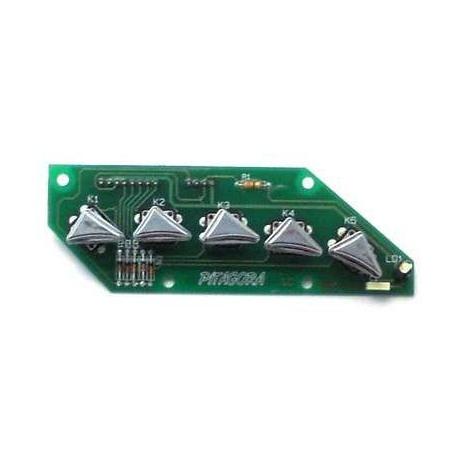 IOQ831-BOITIER 5 T 1 LED REVOLUTION TOUCHE TRIANGLE 1CON 8