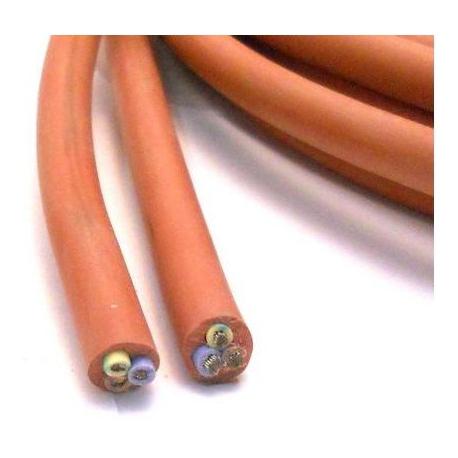 TIQ3151-CABLE SILICONE 3X1.5MMý/METRE