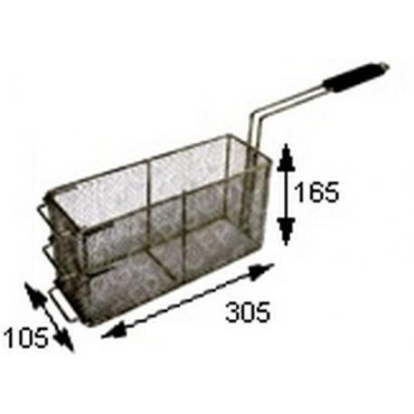 TIQ64566-PANIER A FRITES 305X105XH165 ORIGINE CHARVET