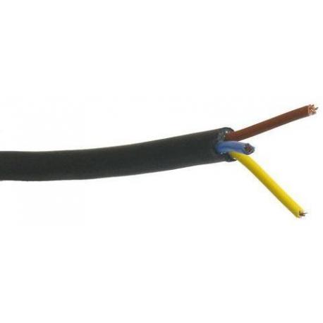 502585560-CABLE ELECTRIQUE 3X1.5MM NOIR