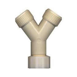 LOT DE 10 RACCORDS PVC 3/4 Y