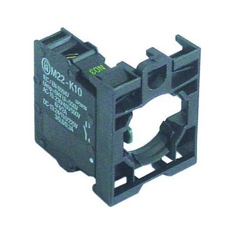TIQ70766-BLOC CONTACT AVEC SUPPORT 1NO