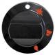 TIQ7180-MANETTE ROBINET GAZ í60MM AXE í10X8MM