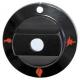 TIQ7102-MANETTE ROTATIVE 60MM VR 8
