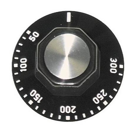 TIQ7144-MANETTE NOIRE DIAM50MM 50-300ø