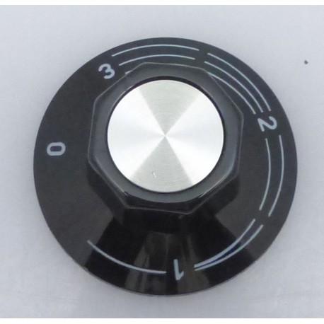 TIQ7240-MANETTE POUR DOSEUR D`ENERGIE EGO 0-1-2-3 í50MM NOIRE