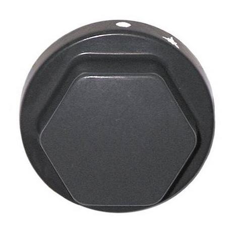 TIQ7381-MANETTE ROBINET GAZ í70MM AXE í8X6.5MM