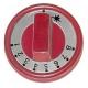 TIQ7392-MANETTE ROTATIVE 76MM THERMOSTAT GAZ 1-8 ORIGINE ITW