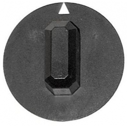 MANETTE AXE 6X4.6MM í44MM NOIRE ORIGINE