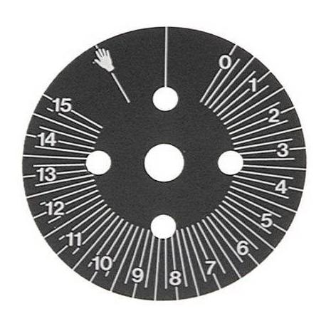 TIQ7467-SYMBOLE MINUTERIE 60MM 15MIN.