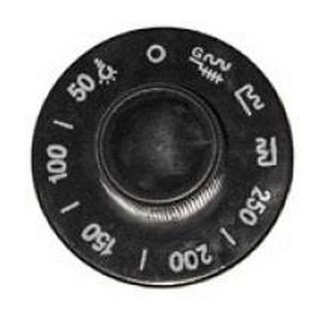 TIQ7461-MANETTE ROBINET GAZ Ø72MM AXE 10X8MM ORIGINE MARENO