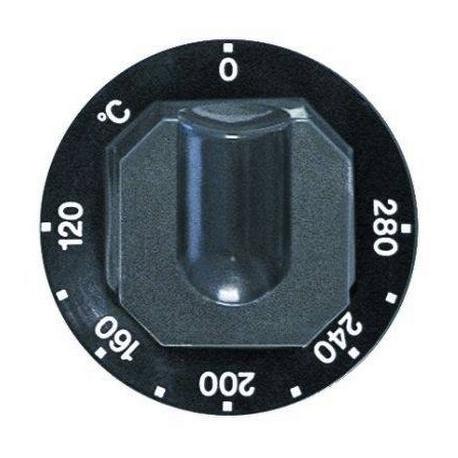 TIQ7496-MANETTE ROTATIVE 70MM