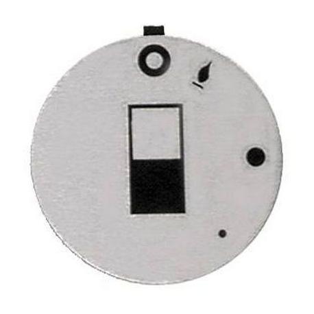 TIQ7415-ANNEAU MARQUEUR ROBINET GAZ