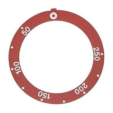TIQ7434-ANNEAU MARQUEUR ROUGE
