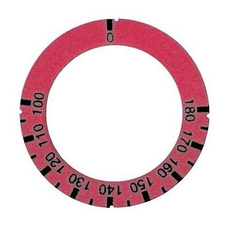 TIQ8571-ANNEAU MARQUEUR ROUGE ORIGINE