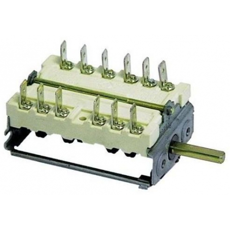 TIQ8620-COMMUTATEUR 0-1-2-3-4 POSITIONS 250V 16A TMAXI 150°C ORIGINE