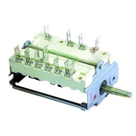 TIQ8622-COMMUTATEUR 0-4 POSITIONS 250V 16A TMAXI 150°C ORIGINE