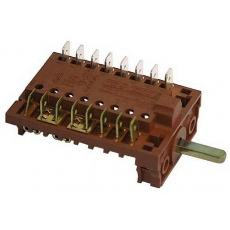 TIQ8766-COMMUTATEUR 3 POSITIONS 250V 16A TMAXI 150°C ORIGINE