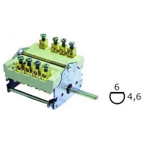 TIQ8709-COMMUTATEUR 0-2 POSITIONS 250V 16A TMAXI 150°C ORIGINE