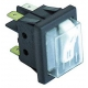 TIQ8070-INTERRUPTEUR 1 PL+LAMPE TEMOIN