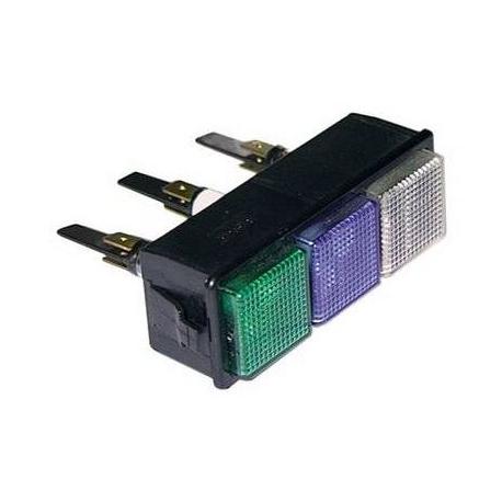 TIQ8324-COMBINE 3 LAMPES TEMOIN