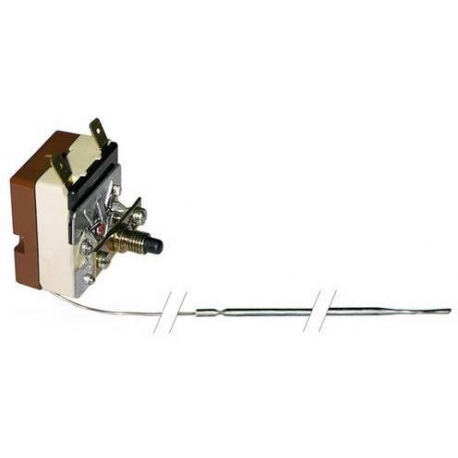 TIQ9134-THERMOSTAT DE SECURITE 230V 16A TMAXI 330°C CAPILAIRE 830MM