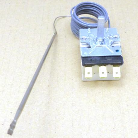 TIQ9255-THERMOSTAT 250V 16A TMINI 50°C TMAXI 300°C CAPILAIRE 1200MM