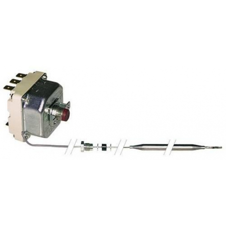 TIQ9260-THERMOSTAT 400V 10A TMAXI 230°C CAPILAIRE 900MM BULBE:230MM