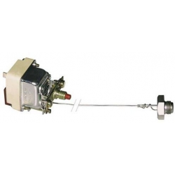 THERMOSTAT + JOINT+ ECROU M14 230V 16A CAPILAIRE 870MM