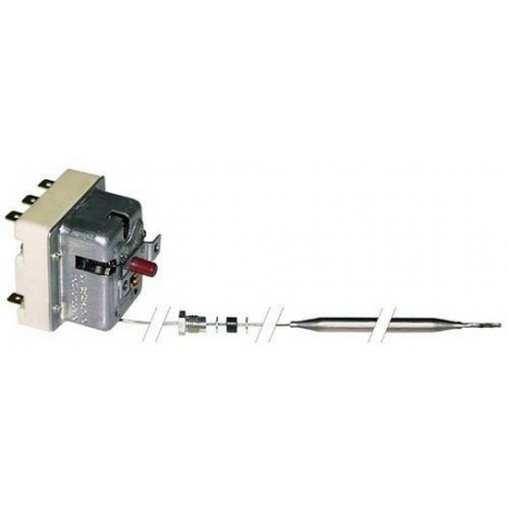 TIQ9355-THERMOSTAT DE SECURITE + PE M10 400V 16A TMAXI 232°C