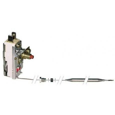 TIQ9357-THERMOSTAT DE SECURITE + VIS M10X1 16A CAPILAIRE 1300MM