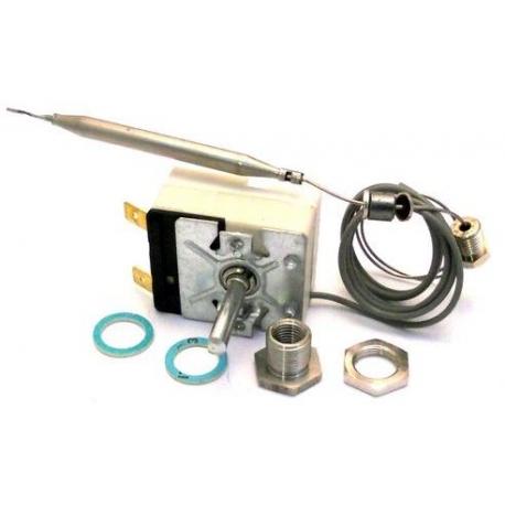 TIQ9378-THERMOSTAT 230V 16A TMINI 100°C TMAXI 185°C CAPILAIRE 850MM