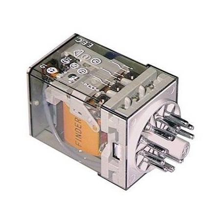 TIQ0790-RELAIS 230V 10A 2 POLES