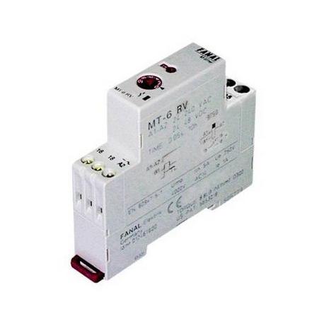 TIQ0899-RELAIS FINDER TEMPORISE 0.1SEC A 24H 12/240V 16A