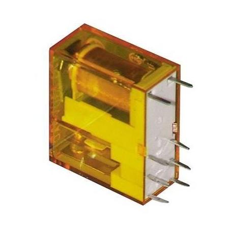 TIQ0839-RELAIS EMBROCHABLE 8 COSSES 5MM 250V 8A 2 POLES
