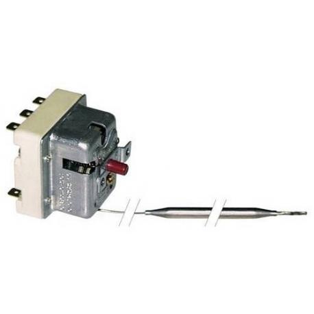 TIQ0907-THERMOSTAT DE SECURITE 400V 10A TMAXI 220°C CAPILAIRE 1800MM